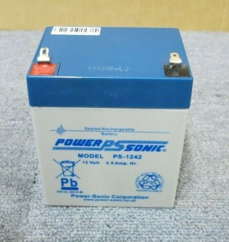 6 x PowerSonic PS-1242 PS1242 12V 4.5Ah Rechargeable Sealed Lead Acid Battery